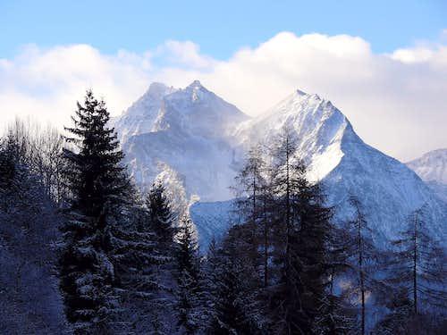 La Grande Roise (3357 m) e la...