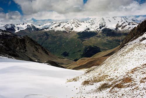 View from Ramoljoch