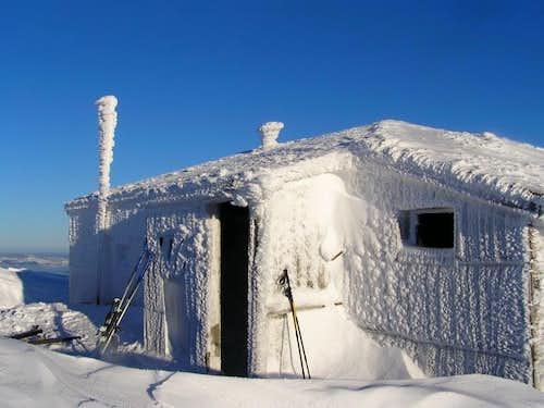 Hranisava hut , January 2007