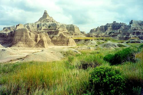 Badlands Window View