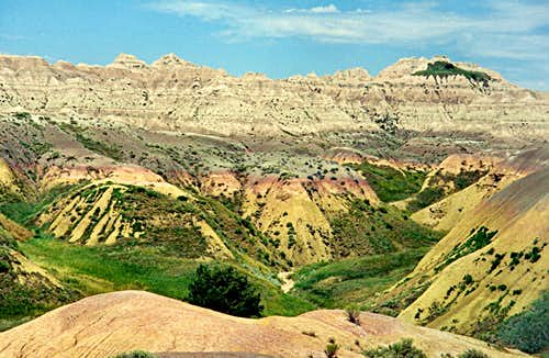 Badlands Color Contrast