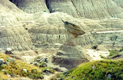 Interesting Rock Formation, Badlands NP