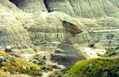 Interesting Rock Formation, Badlands NP
