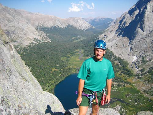 Sean Pingora Climbing