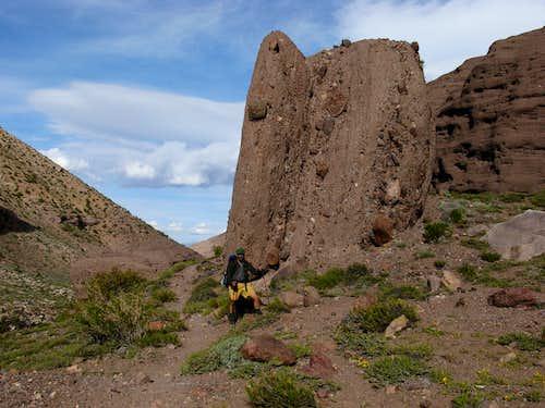Rock on hike in