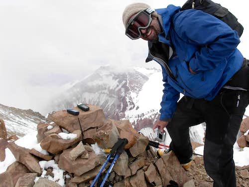 On the summit of Ramada