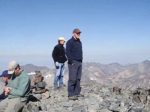 Crazy Peak Summit 2005