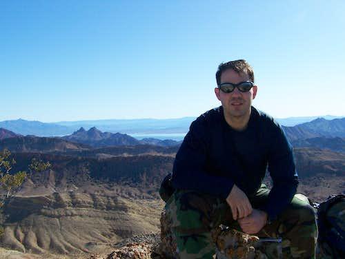 Myself on Northshore Peak