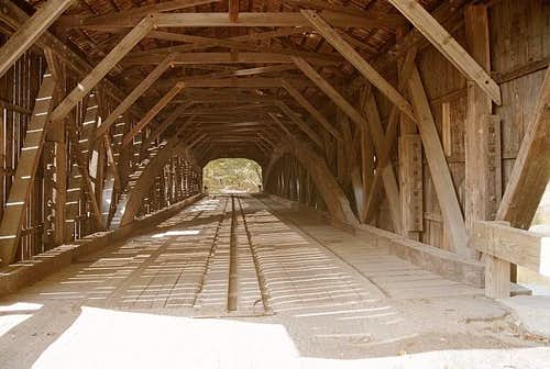 Inside Hemlock Bridge