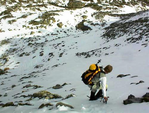 Joseph descending back down...