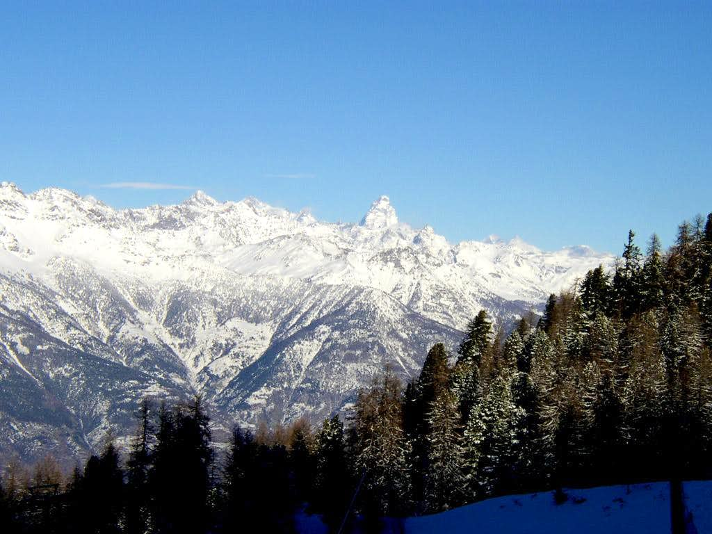 Matterhorn from Pila