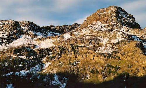 Dromedary Peak, Sunrise