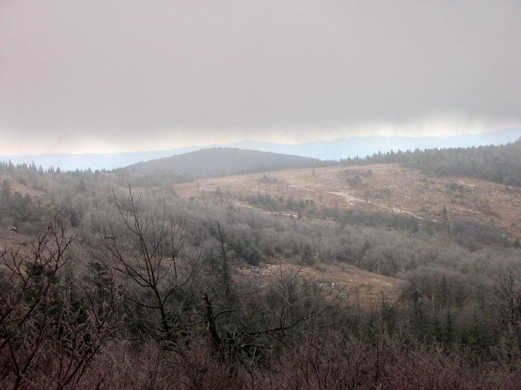 Looking back at Wilburn Ridge
