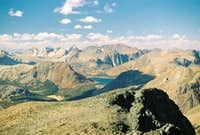 Saddlebag Lake from Dana