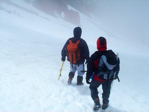 Descending Pico Parra