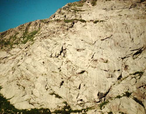 North Basin Wall
