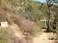 Echo Mountain Trail, San Gabriel Mountains