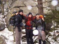 Three Brave Hikers