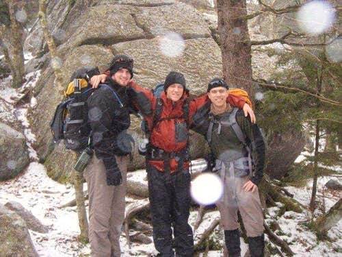 Three Brave Hikers