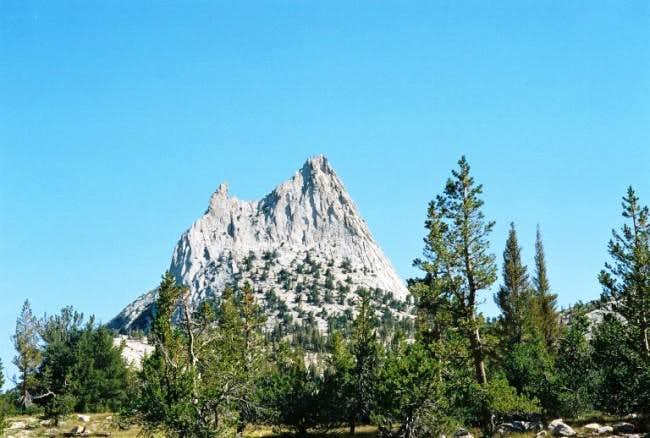 Cathedral Peak from the...