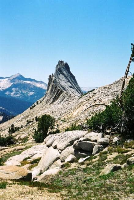Matthes Crest from Echo Pass....