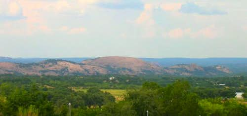 Enchanted Rock State Park, as...