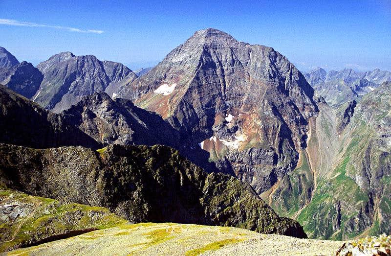 Hochgolling from Greifenberg summit