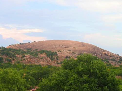 Enchanted Rock, as seen from...
