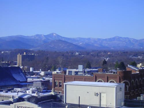 Mount Pisgah from Asheville