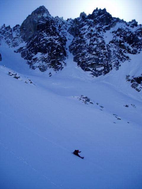 Colchuck Glacier Glissade