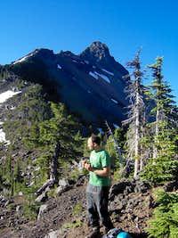 Alex on Mt Wahington