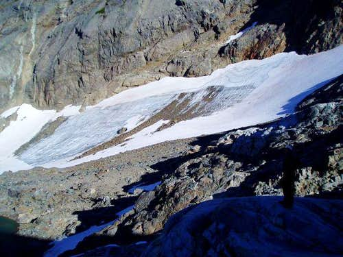 Lower Overcoat Glacier