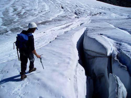 Upper Overcoat Glacier