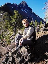 Chris on Mt Washington