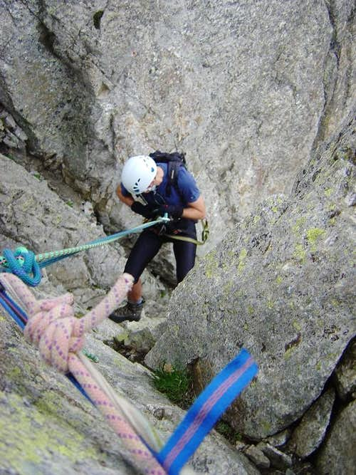 First rappel of B.Sallés