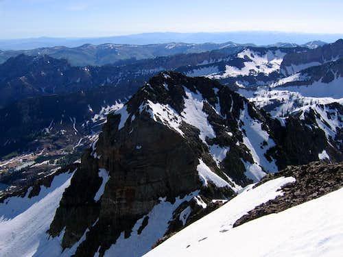 Dromedary Peak from Sunrise Peak