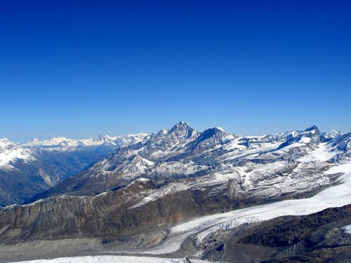 Dom, Täschhorn and Alphubel