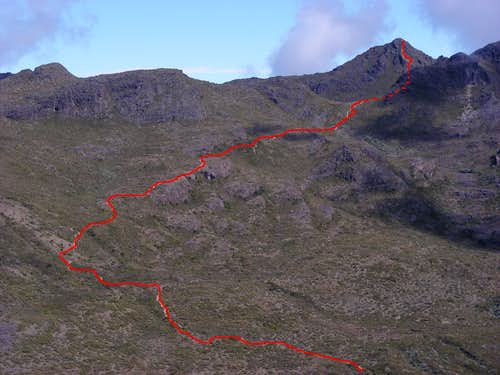 Cerro Chirripo (normal route)