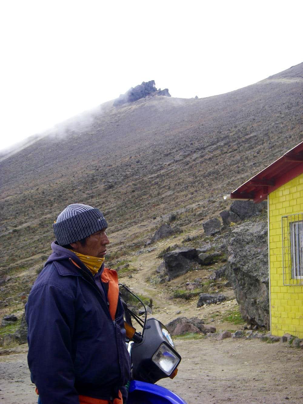 Guagua Pichincha Hut Caretaker