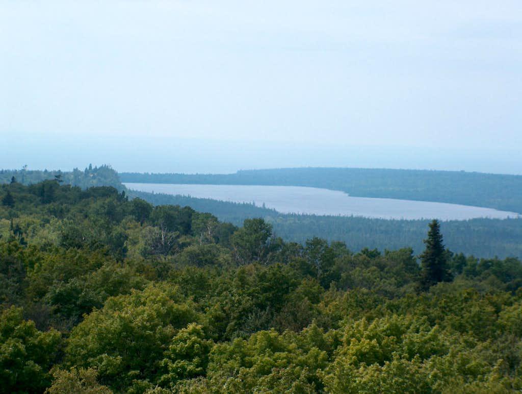 Feldtmann Ridge view