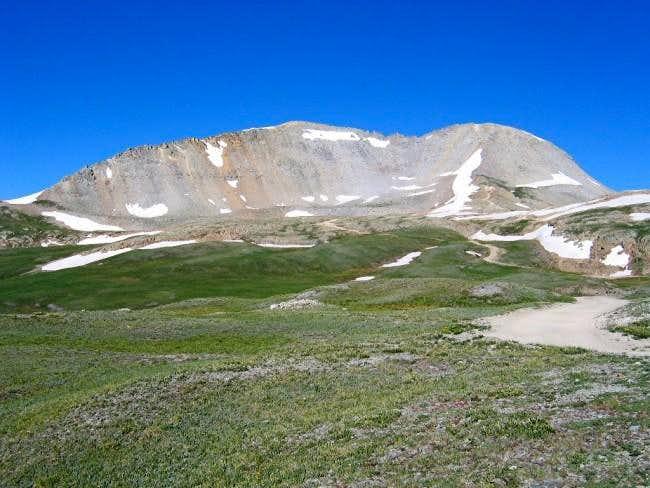 July 9, 2003 Peak 13477 from...