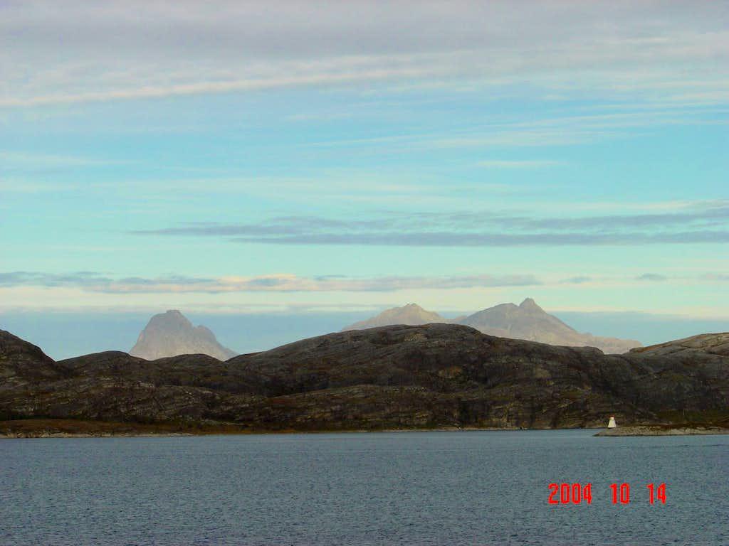 Peaks in Norway