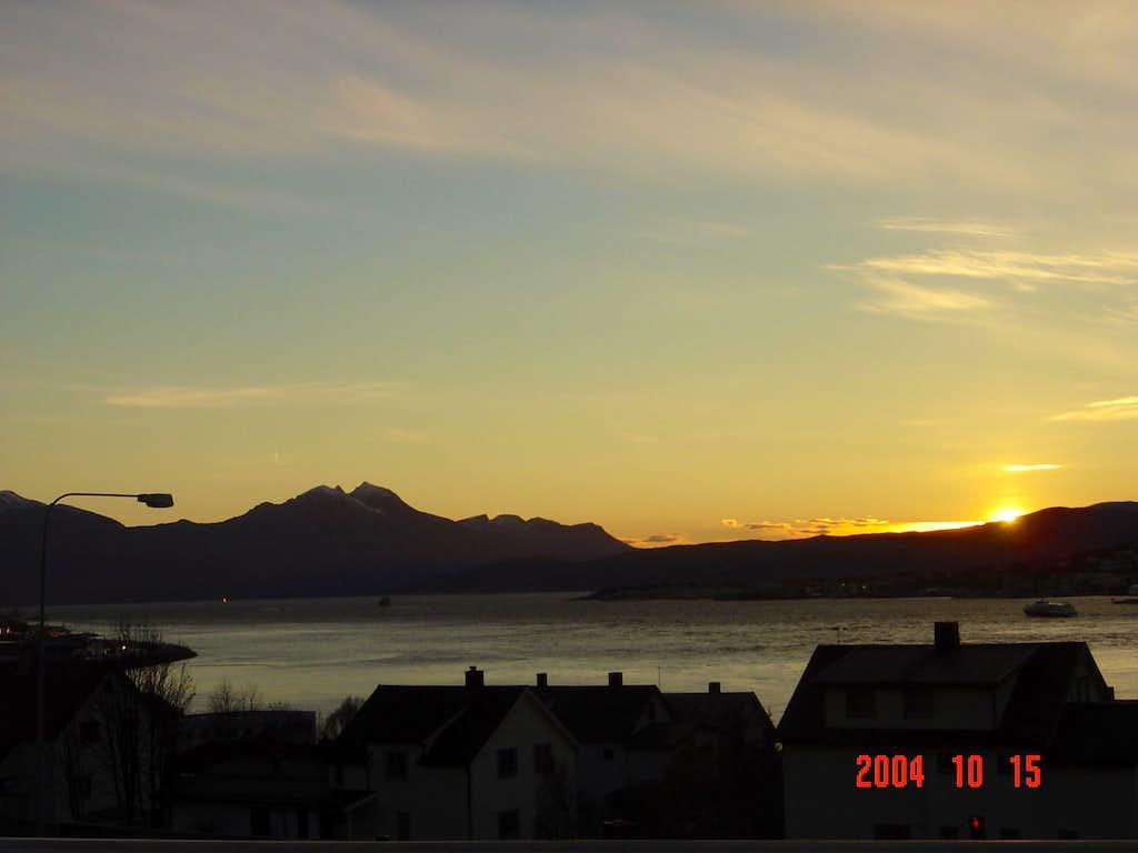 Sunset in Tromso