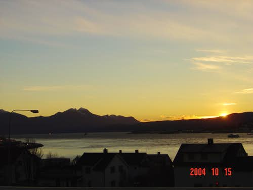 Sunset in Tromso