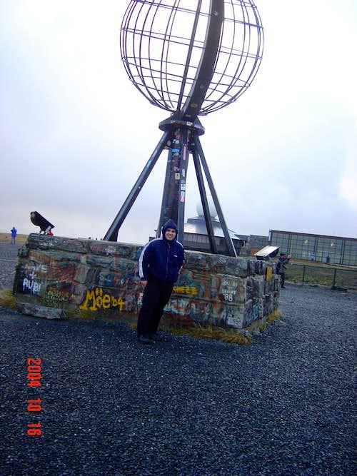 Me at North Cape