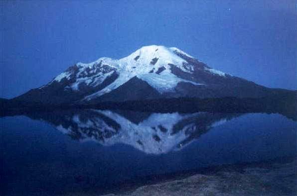 Chimborazo seen from the Base...