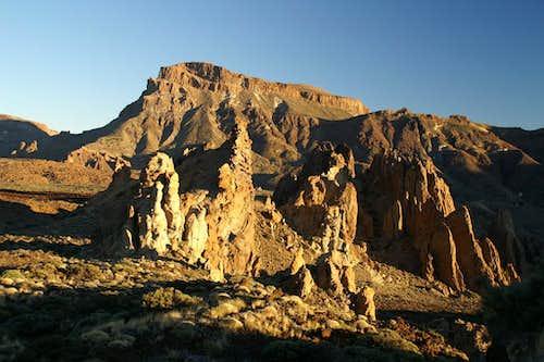 Roques de Garcia in front of Guajara