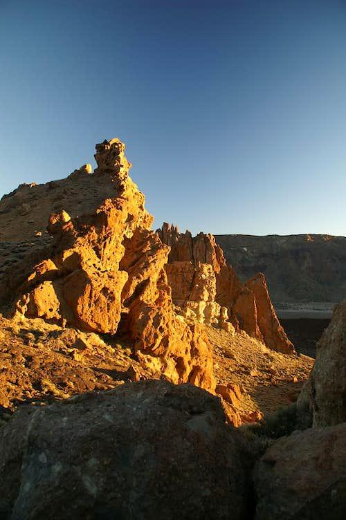 Roques Garcia sunset