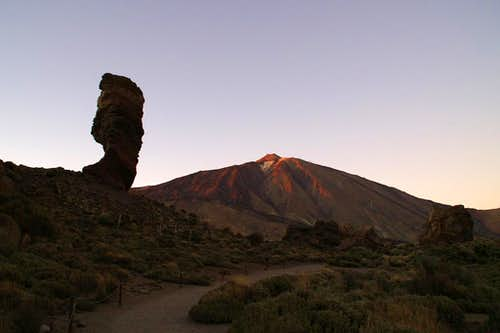 Roque Chinchado and Teide