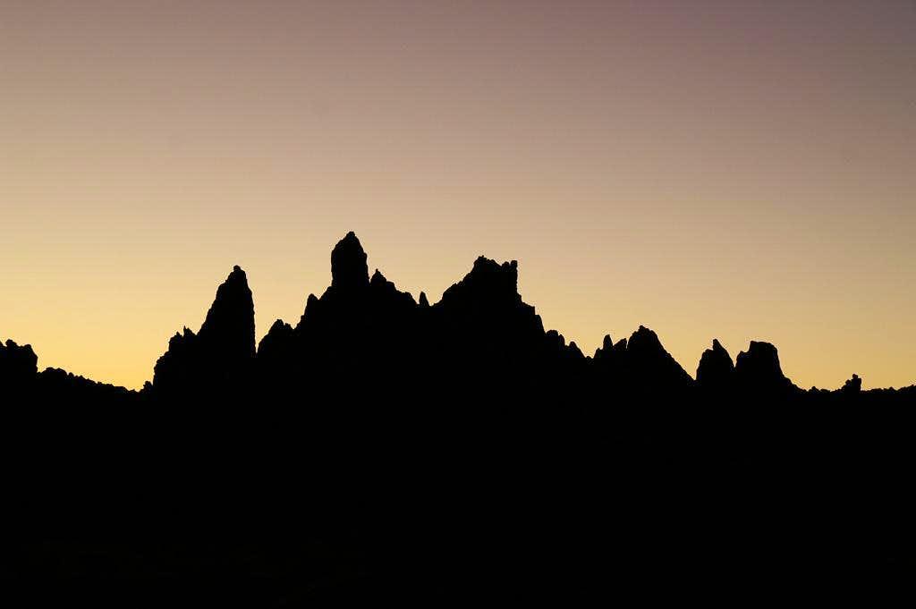 Roques de Garcia skyline